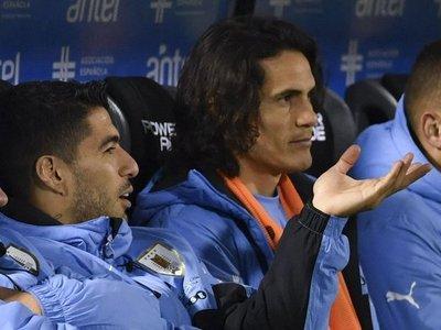 Suárez y Cavani apuntan a Ecuador