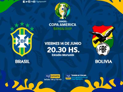 Brasil inaugura su Copa