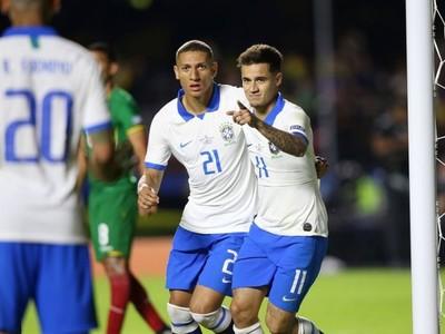 Brasil impuso su superioridad y goleó a Bolivia en el inicio de la Copa América