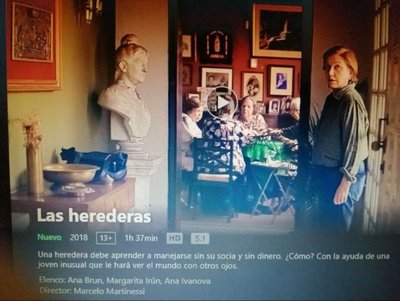 """""""Las Herederas"""" ya está en Netflix"""