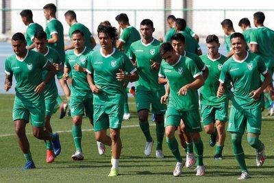 Bolivia se entrena por primera vez en Río