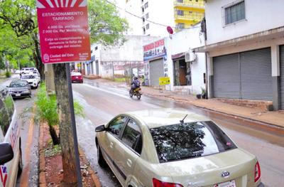 Proponen digitalización del estacionamiento