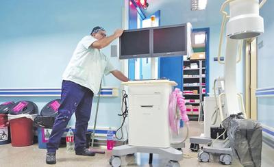 Llevaron equipo de IPS de CDE a otro hospital