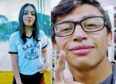 Familiares buscan a una pareja de adolescentes