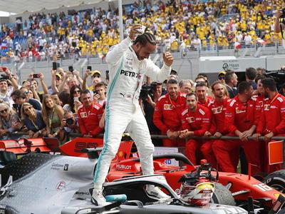 Lewis Hamilton no tiene oposición en Le Castellet