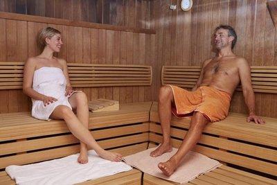 Sauna requiere un esfuerzo similar al deporte