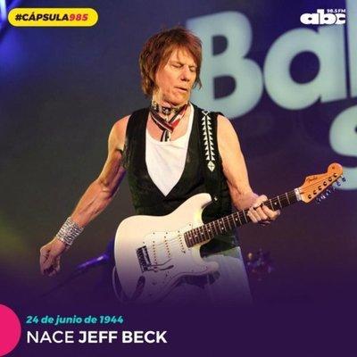 #Cápsula985 1944: nace el guitarrista Jeff Beck
