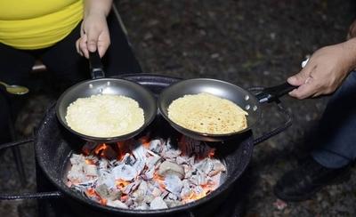 HOY / Los bomberos de Sajonia preparan la tradicional feria de comidas típicas