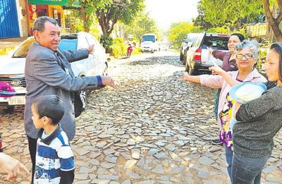 Pobladores de San Juan piden pavimento