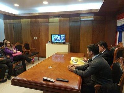 Se inició diplomado de Garantías constitucionales por videoconferencia