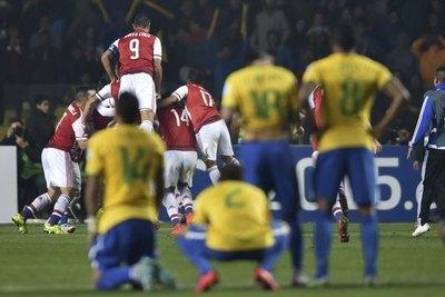 La estadística de Paraguay en 'cuartos' de Copa América