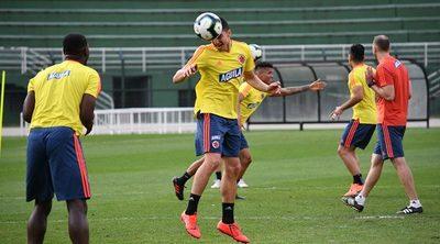 Colombia se alista para su duelo contra Chile