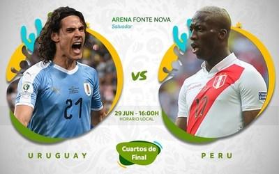 Copa América: Uruguay y Peru definen la última plaza a semifinales