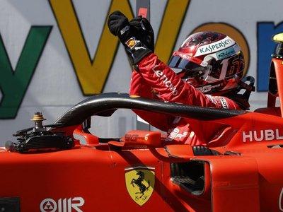 Leclerc saldrá desde la 'pole' en el Red Bull Ring austríaco