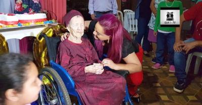 Ña Petrona  festejó ¡sus  110 años!