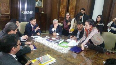 CNI entrega lista al BNF para refinanciación de deudas