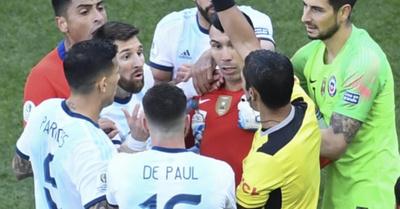 El paraguayo que expulsó a Lio Messi
