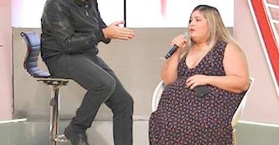 Pamela subió 15 kilos en solo un mes