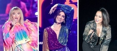"HOY / Becky G, en concierto con Taylor Swift y Dua Lipa: ""Es momento de girl power"""