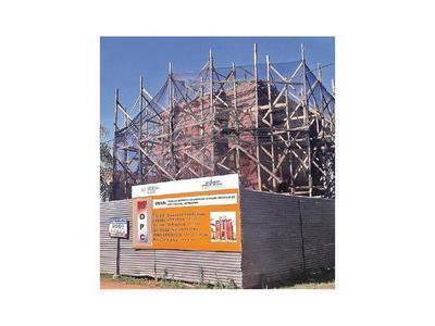 Avanza restauración de templo y torreón