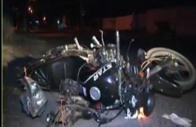 Sujeto atropelló, mató a motociclista y huyó del lugar