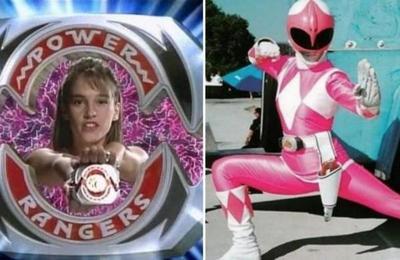 Así luce la primera 'Ranger Rosa' a más de 20 años del estreno de la serie