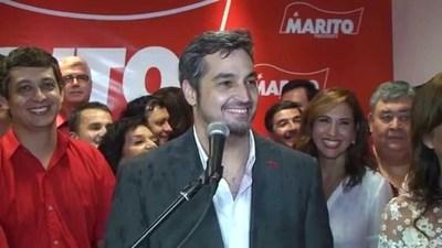 """Marito Abdo: """"El voto transforma la realidad del Paraguay"""""""