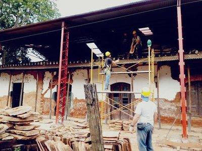 Se encuentra en plena ejecución trabajos para rescatar patrimonios históricos