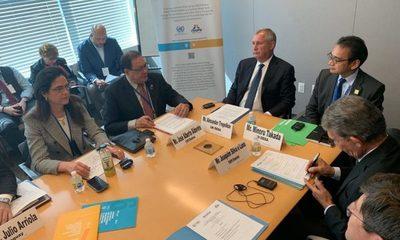 Directores generales de ITAIPU participan de reunión de alto nivel sobre agua y energía en las Naciones Unidas