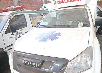 Política de extrema lentitud: ambulancias que costaron G. 960.000.000 no pueden usarse porque no se ponen de acuerdo