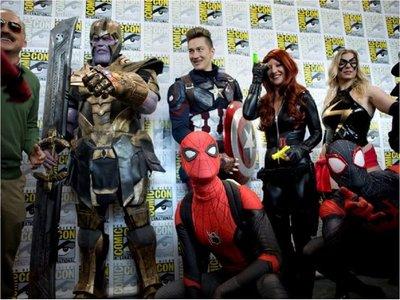 Marvel arrasa en Comic-Con con The Eternals, Black Widow, Thor y Blade
