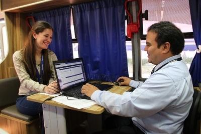 Caaguazú y Alto Paraná recibirán esta semana servicios de la PAC Móvil