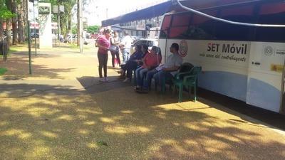 Servicios de la PAC Móvil de la SET en Caaguazu y Alto Paraná
