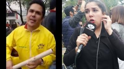 """HOY / Periodista denuncia que taxista la manoseó mientras cubría la protesta: """"Fue muy fuerte"""""""