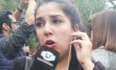 Cronista denuncia acoso en manifestación de taxistas