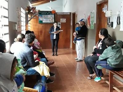 Asistencia sanitaria en Minga Guazú