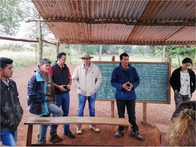 Inician tareas para asistir a nativos que viven precariamente en Itakyry
