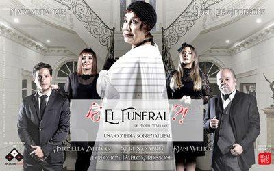 Un funeral en el Arlequín Teatro