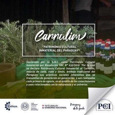 El carrulim es declarado Patrimonio Cultural Inmaterial por la SNC