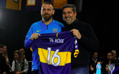 Boca presenta oficialmente a Daniele De Rossi