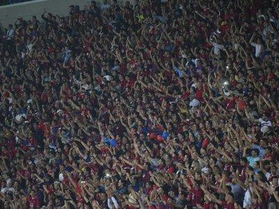 Explosión: Así fue el impresionante grito azulgrana en el gol de Ruiz