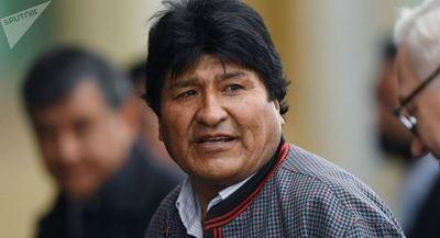 Evo Morales prioriza su gestión económica en campaña electoral