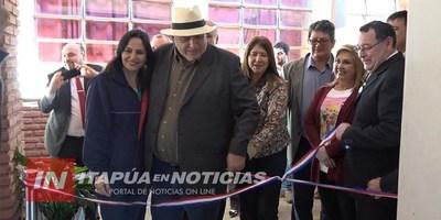 INAUGURAN OBRAS EN POPULOSA INSTITUCIÓN DEL BARRIO SAN PEDRO