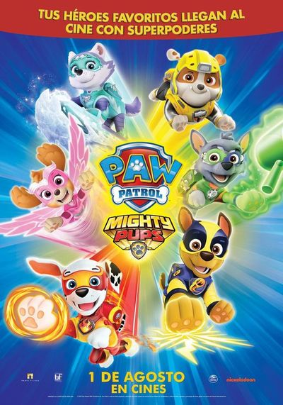 Paw Patrol: Mighty Pups (2D)