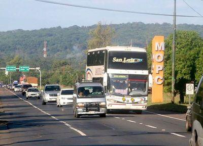 Obras de ampliación de la Ruta 2 comenzarán en 15 días más
