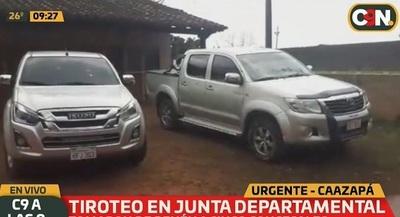 Tiroteo y toma de rehenes en Junta Departamental de Caazapá
