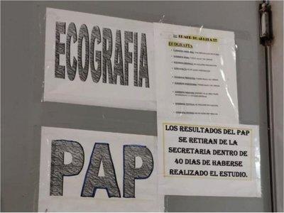 Denuncian que en  40 días Clínica 12 de Junio  da          resultados del  PAP