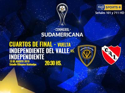 Independiente busca su pase a semis en Ecuador