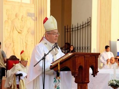 Monseñor negó haber recibido algún tipo de agresión por parte de manifestantes
