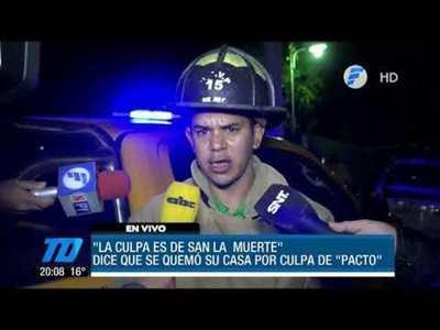 """La Culpa es de San La Muerte"""
